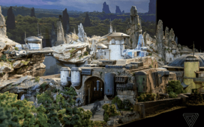 New Star Wars Zone at Disney!