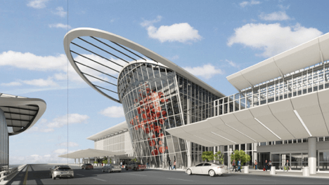 New Orlando International Airport Terminal