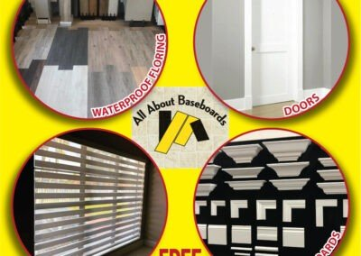 All About Baseboards and Blinds