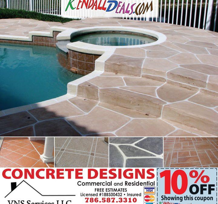 artistic concrete design